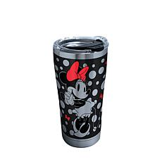 Disney Minnie Mouse Silver 20 oz Stainless Steel Tumbler with lid