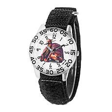 Disney Raya and the Last Dragon Raya/Tuk Tuk Kids' Black Strap Watch