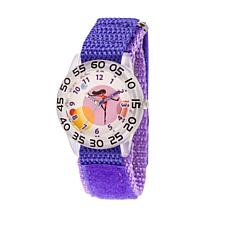 "Disney The Incredibles ""Violet"" Kid's Purple Strap Time-Teacher Watch"