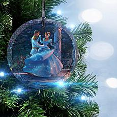 Disney Thomas Kinkade StarFire Prints™ Cinderella Dance Hanging Glass