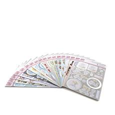 Docrafts All Occasion Foil Decoupage 20-Pack Set