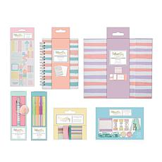 docrafts Noteworthy Stationery & Embellishments - Pastel Hues
