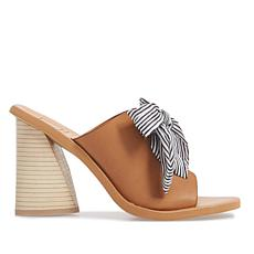 Dolce Vita Amber Leather Open-Toe Block-Heel Mule