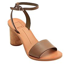 Dolce Vita Jali Block-Heel Leather Sandal