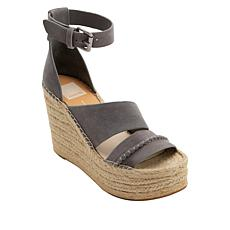 Dolce Vita Simi Suede Espadrille Wedge Sandal