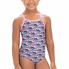 Dolfin Little Dolfin Candy Mountain-Print 1-piece Swimsuit