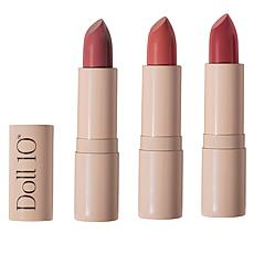 Doll 10 Hydragel Lipstick 3-pack