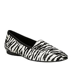 Donald J. Pliner DeeDee Zebra-Print Haircalf Loafer