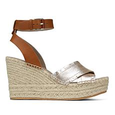 Donald J. Pliner Ines Leather Espadrille Wedge Sandal