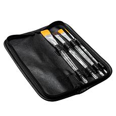 Donna Dewberry One Stroke 4-piece Brush Set with Storage Case
