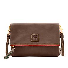 Dooney & Bourke Florentine Leather Foldover Zip Crossbody