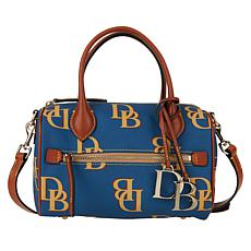 Dooney & Bourke Monogram Barrel Satchel