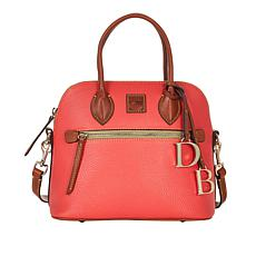 Dooney & Bourke Pebble Leather Dome Satchel