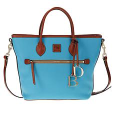 Dooney & Bourke Pebble Leather Handle Tote