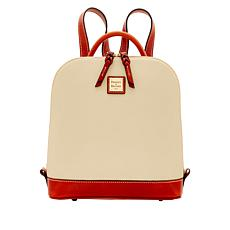 Dooney & Bourke Pebble Leather Zip Pod Backpack