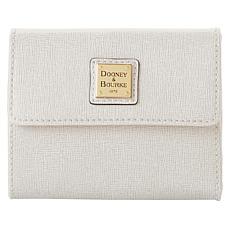 Dooney & Bourke Saffiano Leather Small Flap Wallet