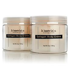 Dr. Jeannette Graf Collagen Body Creme 2-pack