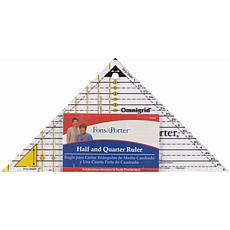 Dritz Fons and Porter Half and Quarter Ruler