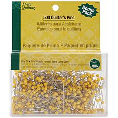 "Dritz Quilting Quilter's 1-3/4"" Pins - 500 Pack"