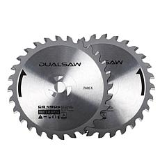 DUALSAW CS450 Tungsten-Carbide Counter-Rotating Blades