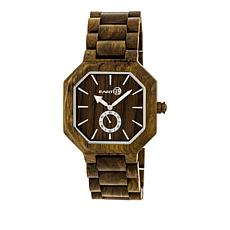 "Earth Wood Goods ""Acadia"" Olive Wood Bracelet Watch"
