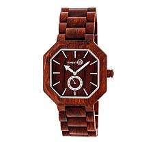 "Earth Wood Goods ""Acadia"" Red Wood Bracelet Watch"