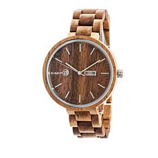"Earth Wood Goods ""Mimosa"" Olive Wood Bracelet Watch"