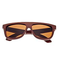 Earth Wood Imperial Sunglasses with Rosewood Frame and Brown Lenses