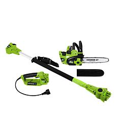Earthwise  Convertible 2-in-1 Electric Corded  Pole Saw