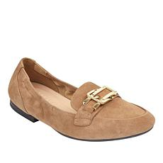 easy spirit Cricket Suede Buckled Flat