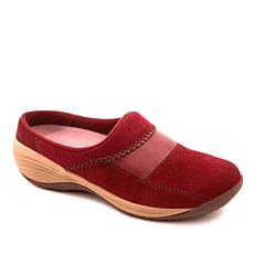 easy spirit Intermix Suede Low-Back Clog