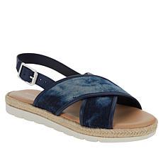 easy spirit Tegan Crisscross Slingback Sandal