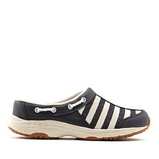 easy spirit Travelport Leather Glitter Stripe Mule