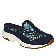 easy spirit Traveltime Prints Leather Sport Clog