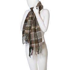 Echo Lofty Plaid Fringe Muffler