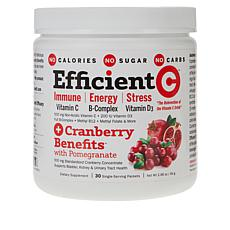 Efficient-C + Cranberry Benefits with Pomegranate - 30 Packets