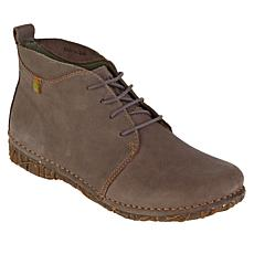 El Naturalista Angkor Pleasant Leather Lace-Up Ankle Boot