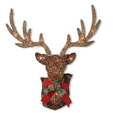 Electric Vine Stag Head Wall Décor