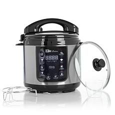 Elite Bistro 4qt Electric Pressure Cooker with Recipes