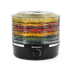 Elite Gourmet 5-Tier Food Dehydrator with Adjustable Temperature Dial