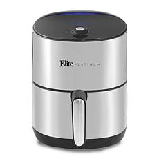 Elite Platinum 4.5-Quart Stainless Steel Digital Air Fryer