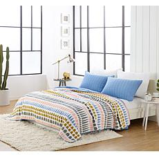 Elizabeth Olwen Hills and Mountains 2pc Quilt Set - Twin
