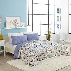 Elizabeth Olwen Wildwood 3pc Quilt Set - Full/Queen