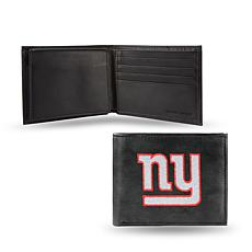 Embroidered Billfold - New York Giants