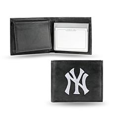 Embroidered Billfold - New York Yankees