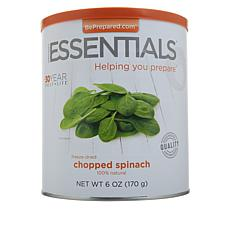 Emergency Essentials 6 oz. Can of Freeze-Dried Chopped Spinach