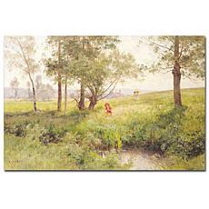 Emile Isenbart 'Landscape' Art Print