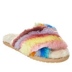 EMU Australia Mayberry Rainbow Sheepskin Fur Slipper