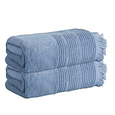 Enchante Home Ellen Set of 2 Turkish Cotton Bath Towels