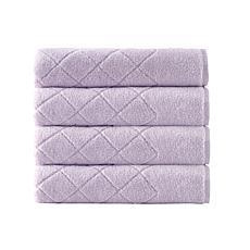 Enchante Home Gracious 4-piece Turkish Cotton Bath Towel Set